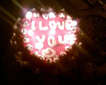 Sevgililer günü pastasi
