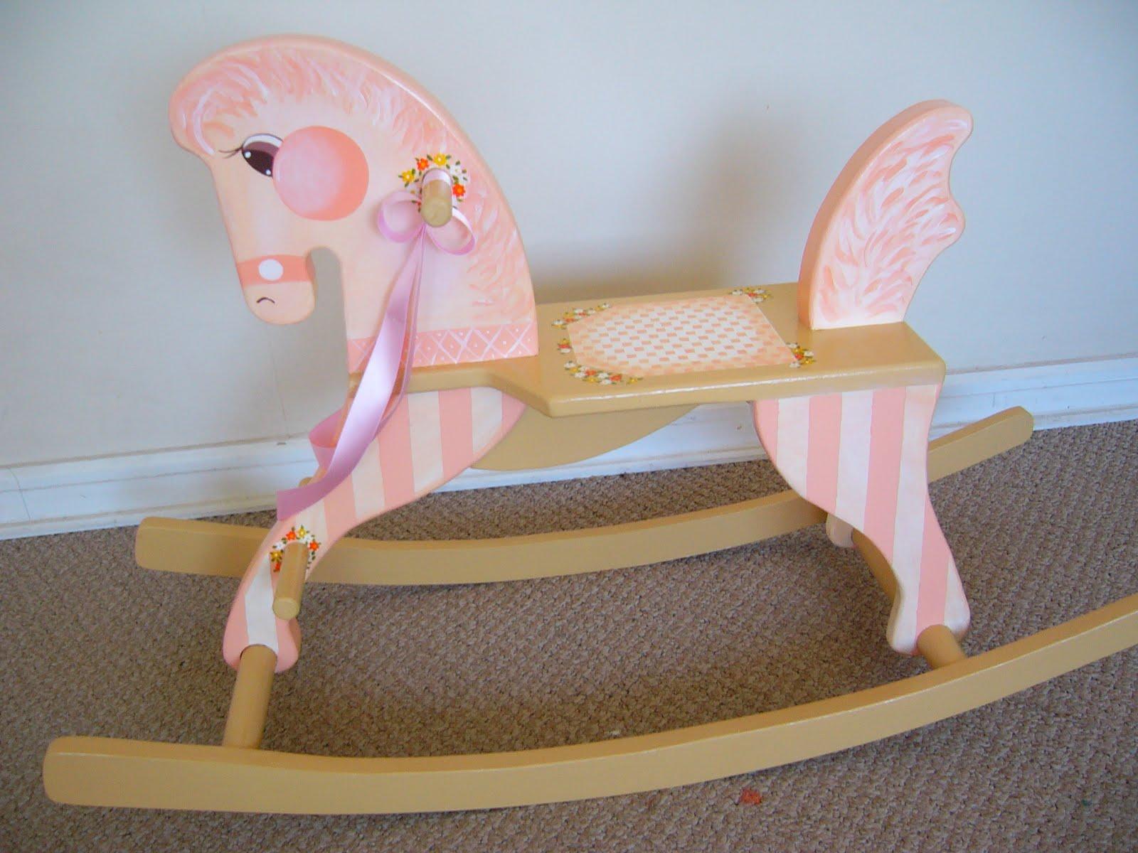 Muebles infantiles decoraci n para ni os juguetes - Caballito de madera ikea ...