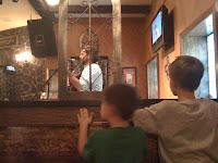 Live Irish folk music