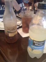 Bottled drinks only