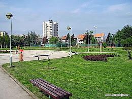 Prostor iza velikog parka