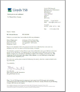 Officestuff reference letter lloyds banking group november 2009 reference letter lloyds banking group november 2009 expocarfo
