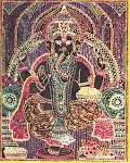 Ganesh ji - Cone Painting