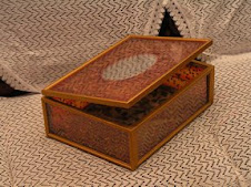 glass jewelery box