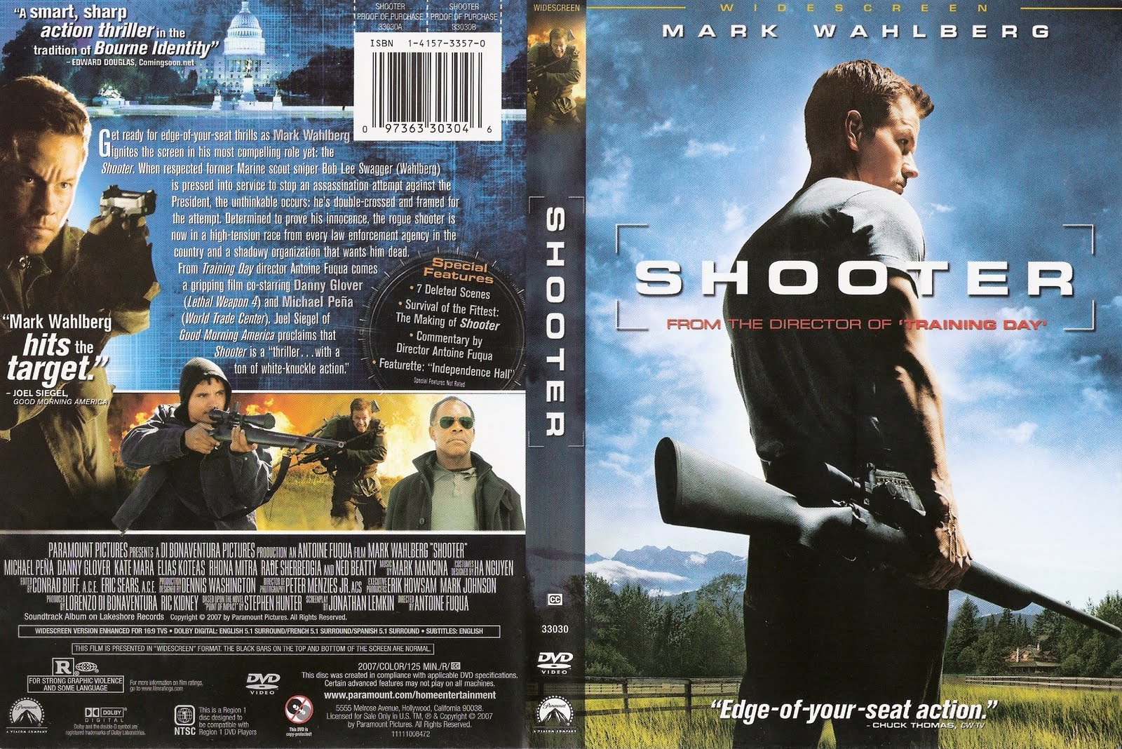 Shooter movie soundtrack