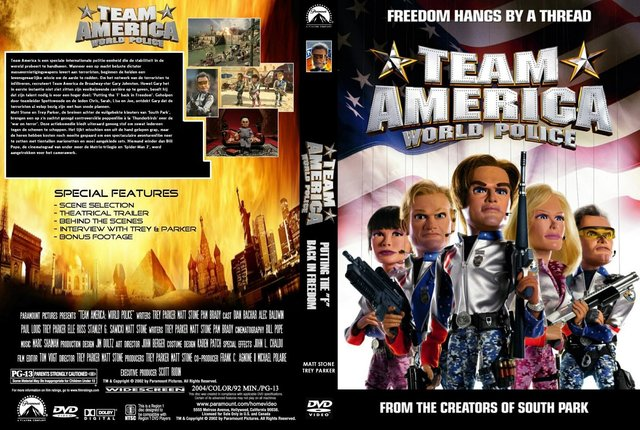 COVERPLAZAFORUM : Team America World Police : DVD Covers
