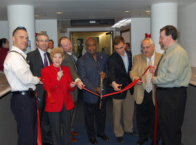 Ribbon Cutting with the Mayor, City Council and City Staff