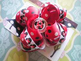 Magical Mouse Bottle Cap Hair Bows #2