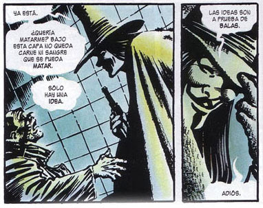 [COMIC]V de Vendetta Comic