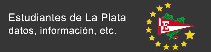 Estudiantes de La Plata - datos, información, etc.
