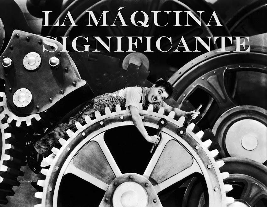 La máquina significante