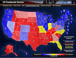 Bbc 2016 us election trump victory map
