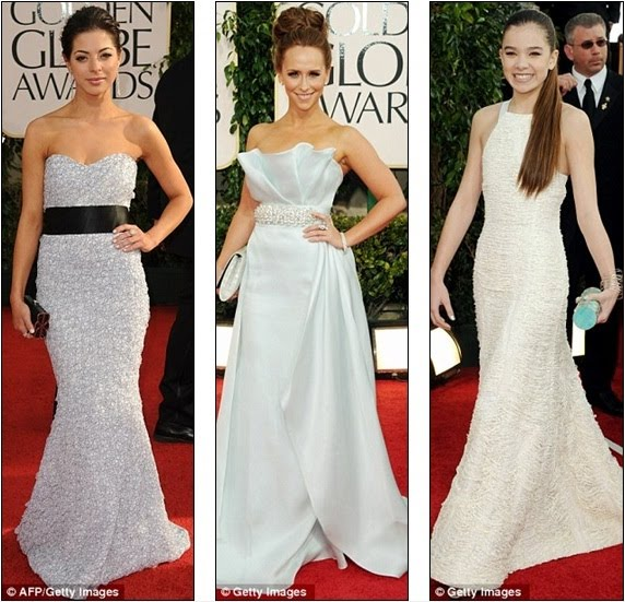 All White On The Night: Miss Golden Globe 2011, Gia Mantegna, Jennifer