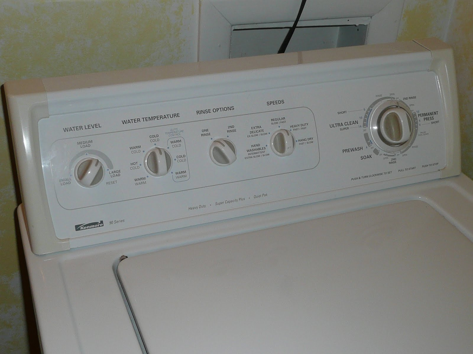 washing machine kenmore repair