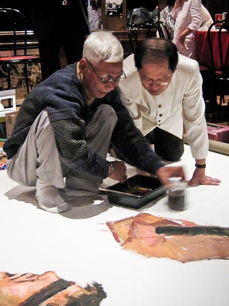 Le cercle des amis de vann nath peintures contre la for Peinture contre la rouille