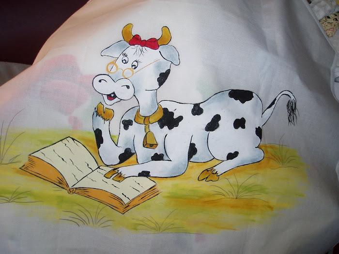 vaca a ler