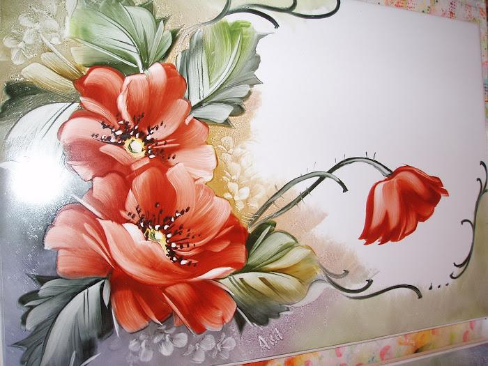 azulejo pintado da Odilia