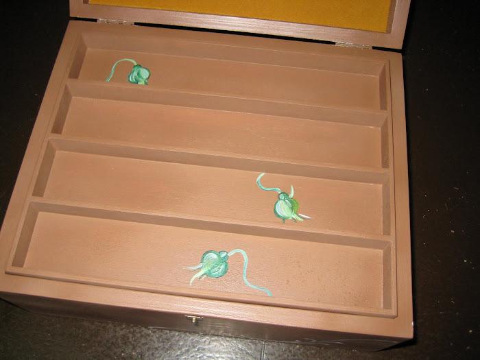 pormenor da caixa