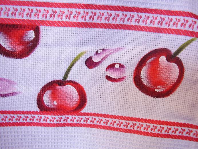 paninho de cerejas