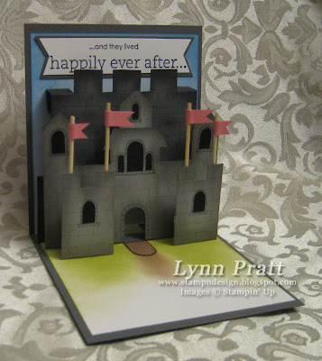 how to make a simple pop up castle