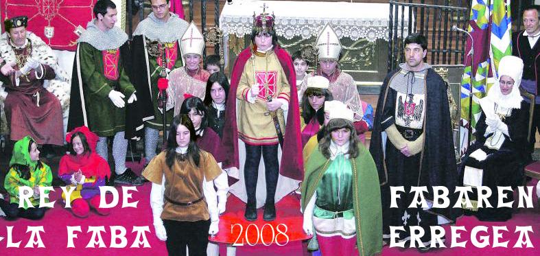 Rey de la Faba 2008