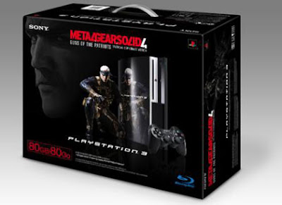 PS3 - Metal Gear Solid 4 - MGS4 - Bundle - 80 Gb