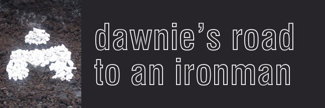 Dawnie's road to an Ironman!
