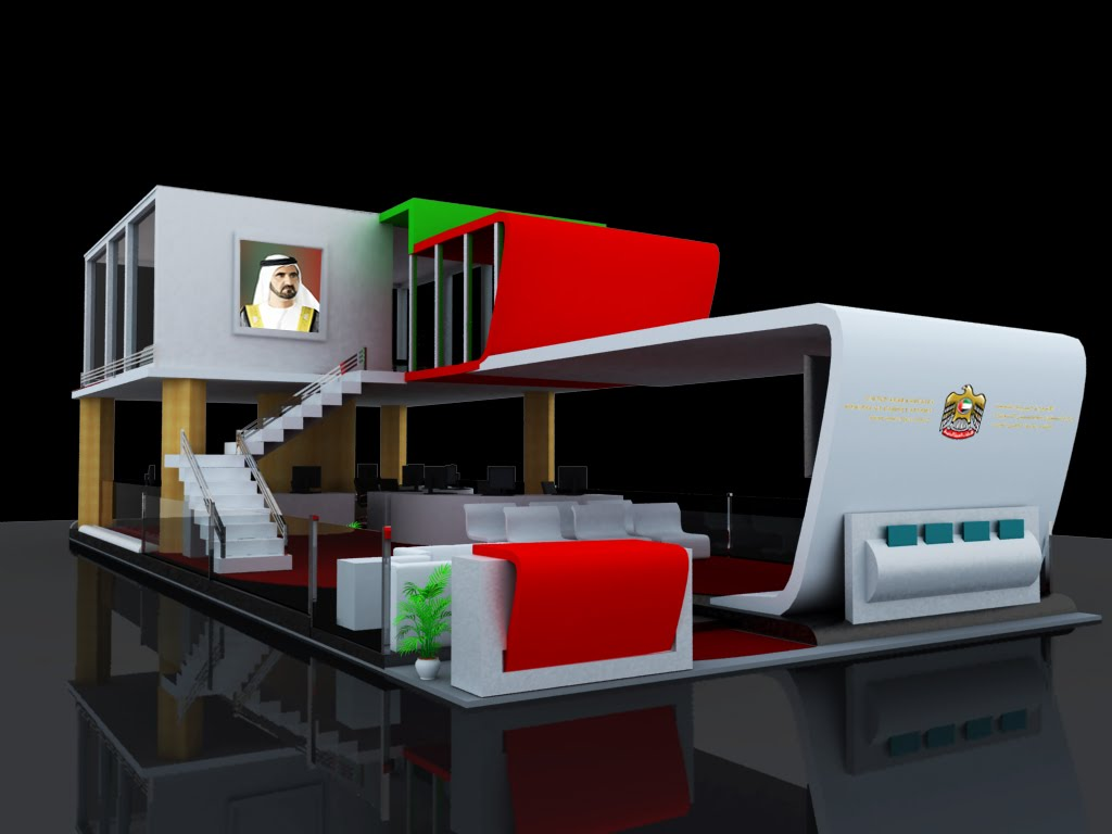 Creative Exhibition Booth Ideas : My animation experiments exhibition stand design