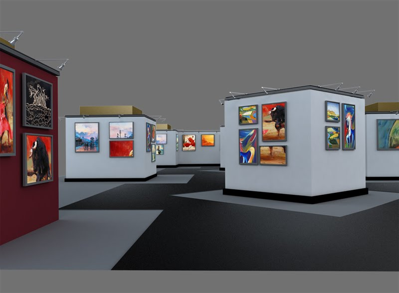 Exhibition Stand Art : My animation experiments art exhibition stand design