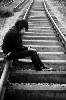 alone emo boy
