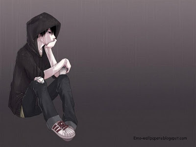 emo boys cartoon wallpaper. wallpaper sad oy. SAD EMO BOY