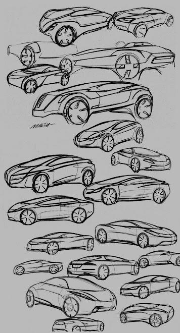 exterior concept sketches