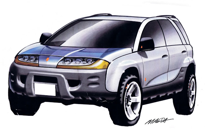 2001 saturn VUE front design proposal