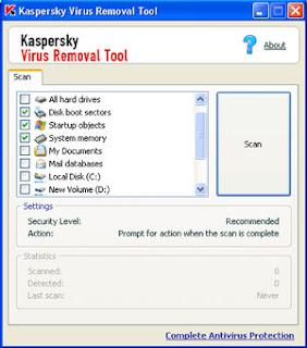 Kaspersky Anti Virus KasperskyRemove_to
