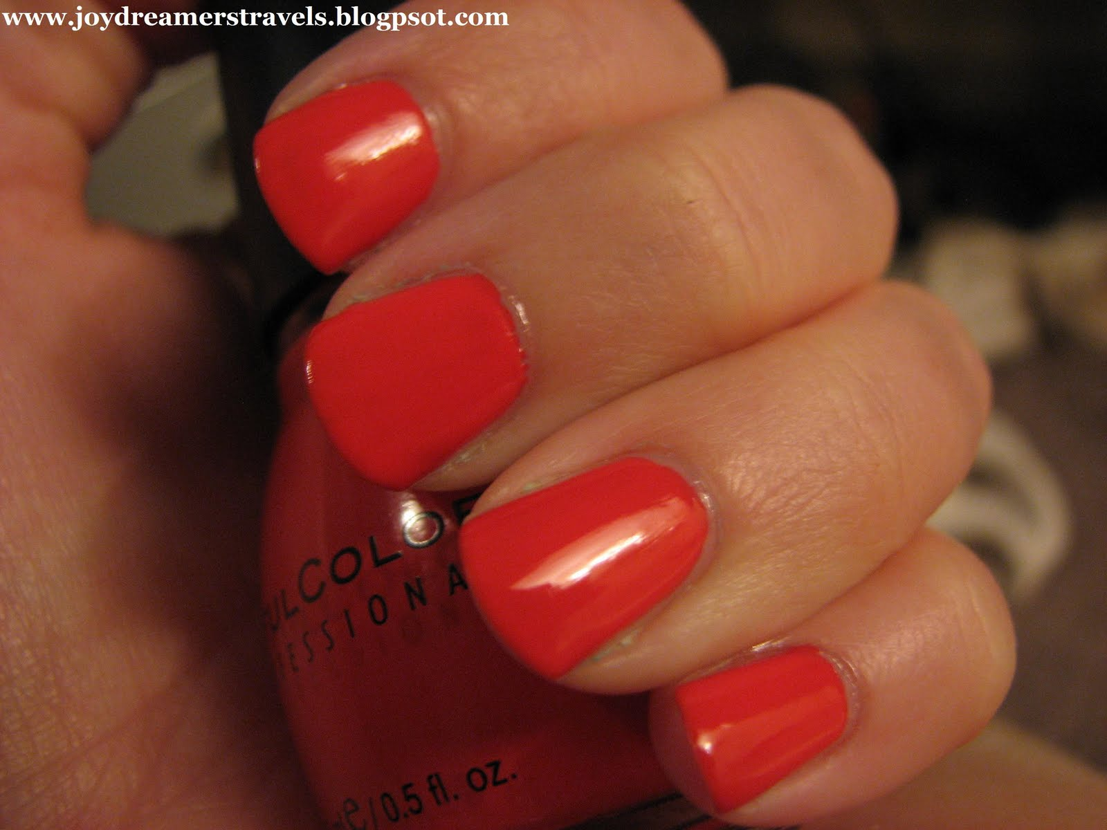 Joydreamer: Review: Orly Sec N\' Dry Quick Deep-Dry Topcoat