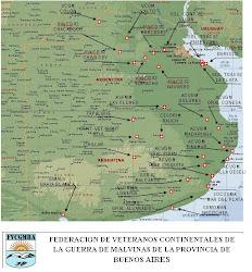 MAPA DE LA FEDERACION