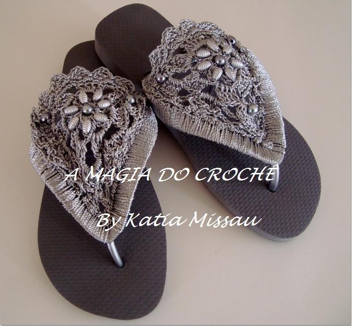 Летняя Обувь Связанная Крючком