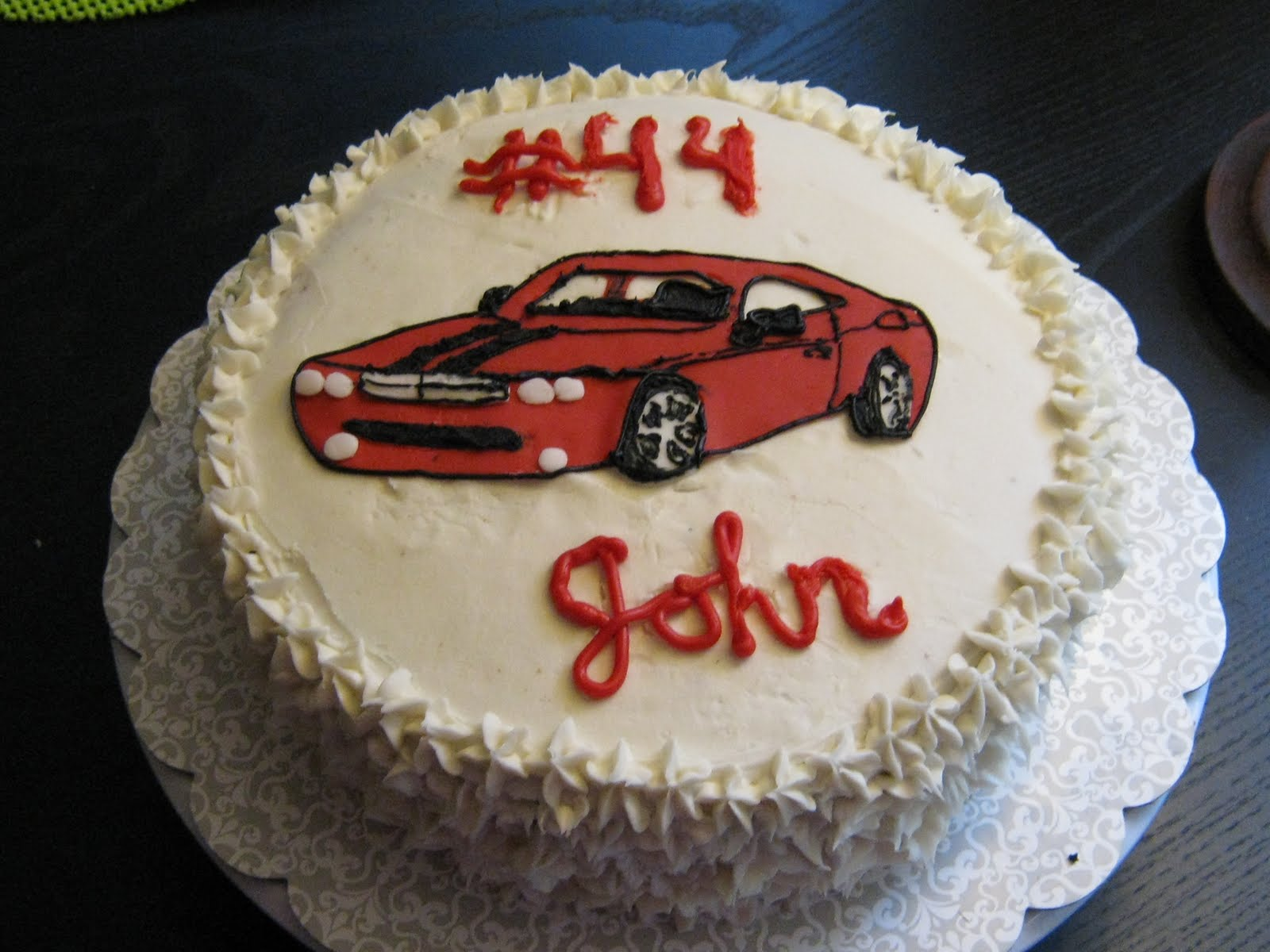Birthday Cake For John : A New Leaf: John s Birthday Cake