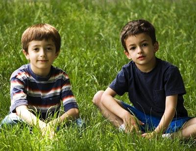niños 9 años