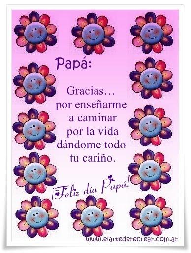 Tarjeta Para El DIA De Los Padres