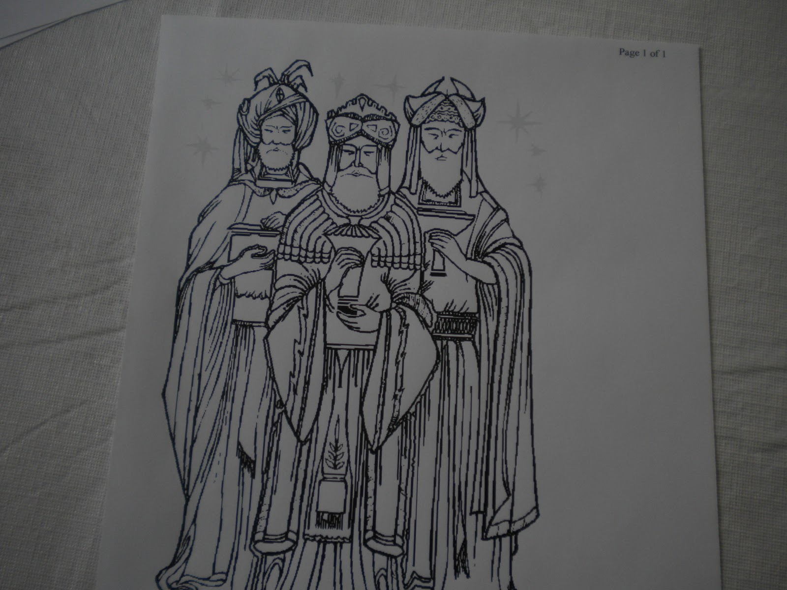 Familia Católica: Páginas para Colorear sobre la Epifanía (Reyes Magos)