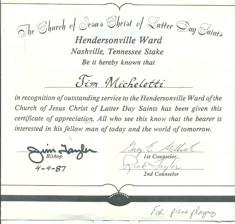 Hendersonville Ward Bishopric Says Thanks