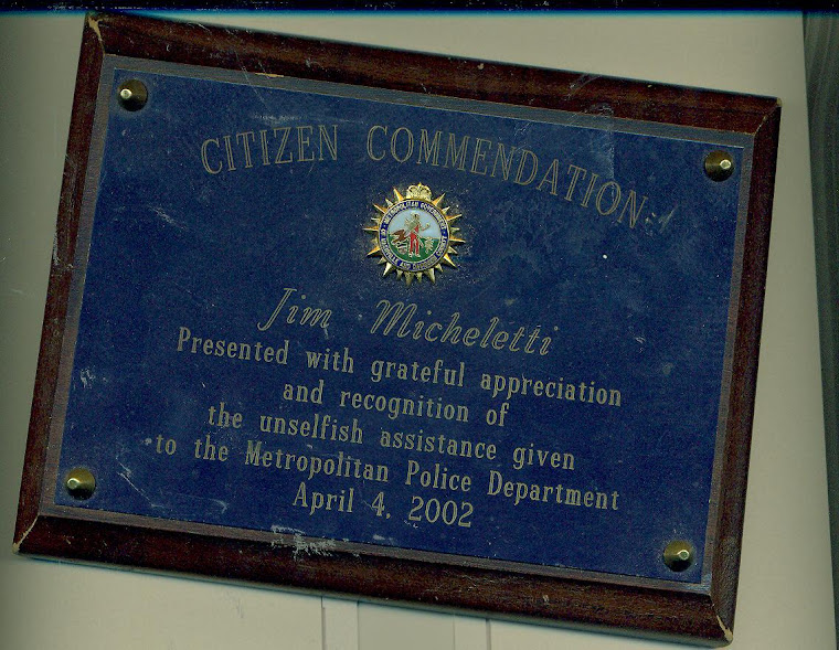 GOOD CITIZENSHIP COMMENDATION FROM POLICE, MAYOR OF NASHVILLE, TN