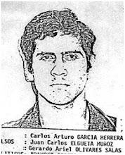 BUEN EJEMPLO DE CRIMINAL : Carlos Arturo García Herrera