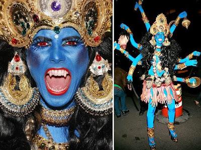 Heidi Klum Halloween Shiva.Ink Wit Heidi Klum S Kali Ma Halloween Costume