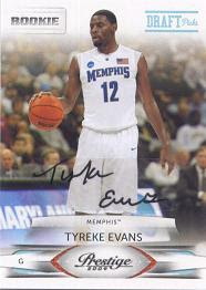 Tyreke Evans Rookie RC Cards