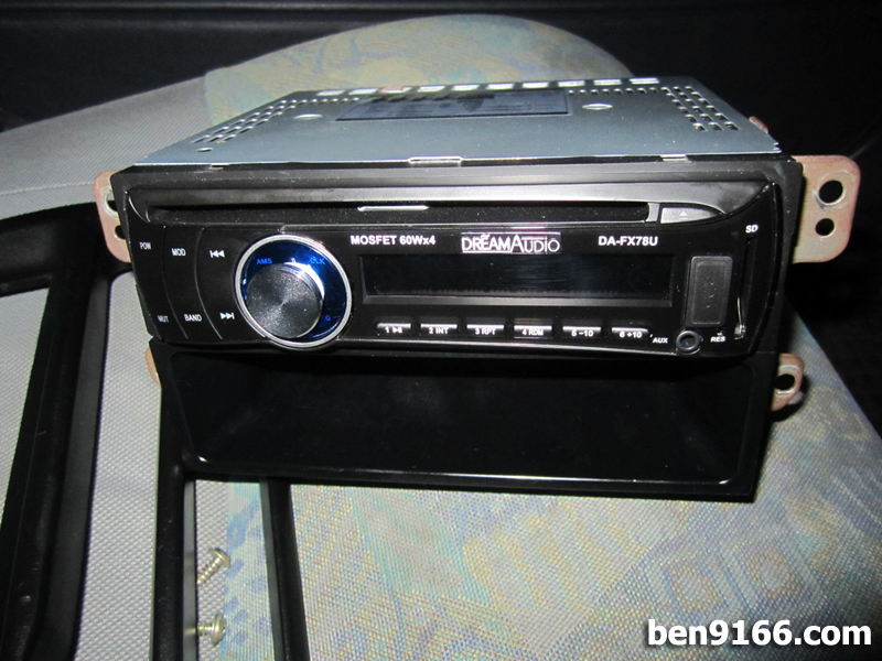 Project Kancil Head Unit Player Wiring Installation BEN9166