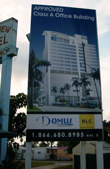 Rendering of the Domus Hallandale Office Bldg., 804 S. Federal Highway, Hallandale Beach, FL