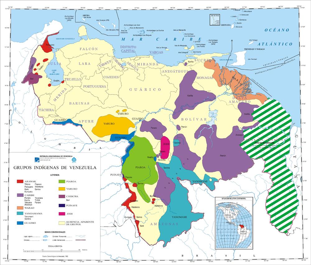 estados indigenas: