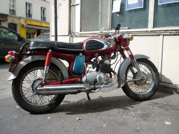 Model: <b>Honda CD 125</b> T Benly